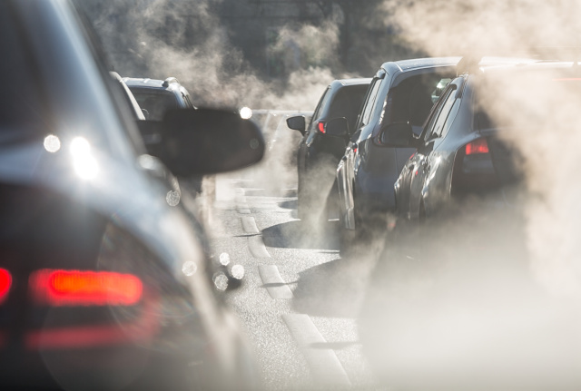 Car Traffic . Environmental hazards include air pollution, chemicals, contaminated sites, noise, radiation, lead, and asbestos.