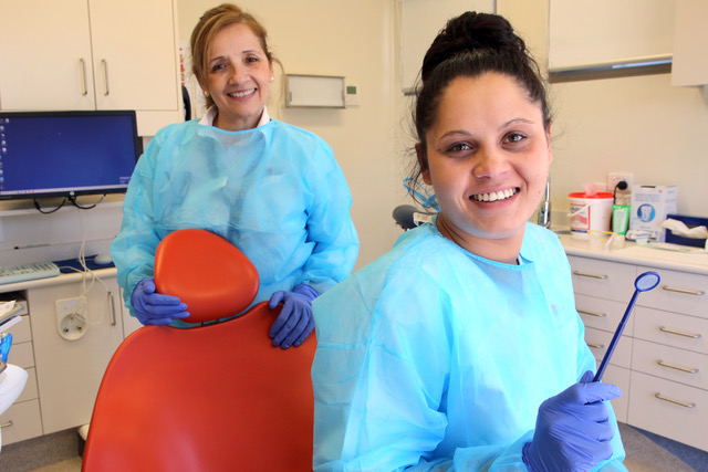 Photo of dental surgery nurses